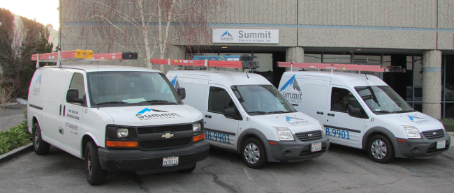 Summit Electric & Data Trucks